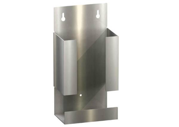 CNSO0174 Spender für Einweghandschuhe Edelstahl mattschliff 130x80x260 mm