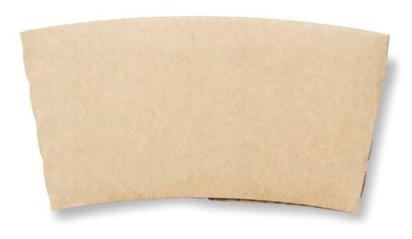 UVDU0157 Becher-Manschetten 24 cl braun aus Karton  KT= 1000 Stück