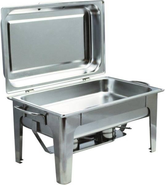 GBDA0048 Chafing Dish CNS poliert GN 1/1 60x35x35cm + 2 Brennpastenbehälter