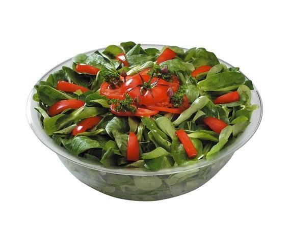 GBAS0001 Salatschüssel glasklar D= 32,5 cm H= 10 cm, 4 Liter