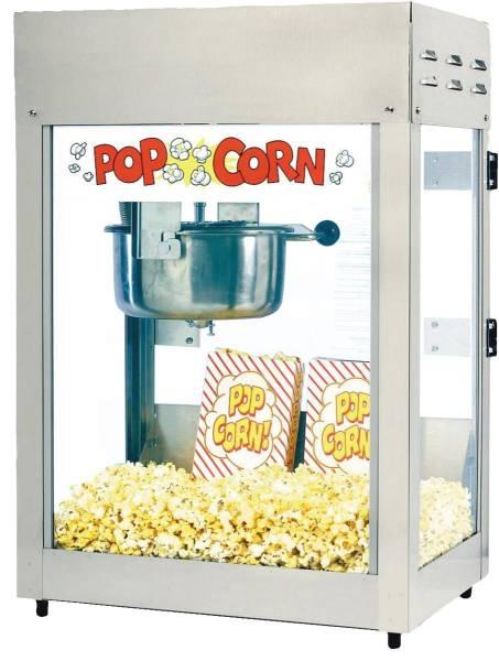 MGNM0145 Neumärker Popcornmaschine Titan 230V/ 1,22 KW, 21 kg