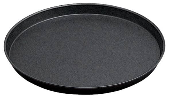 CNCO0858 Pizzablech rund Blaublech D= 28 cm