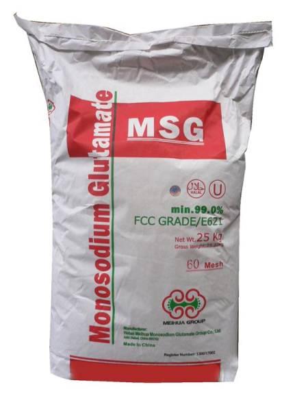 H1DA0005 Glutamat Mononatrium 99% Sack = 25 kg