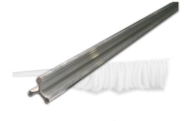 AARA0003 Rauchspieß Aluminium 100cm Dreikant