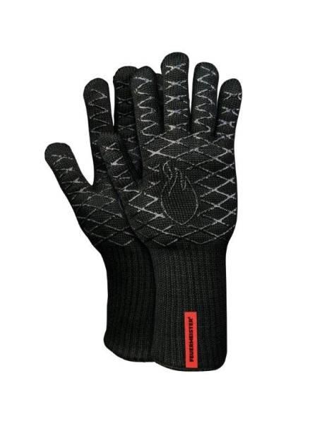 BEHA0262 Grill Handschuh aus Aramid schwarz Gr. 10