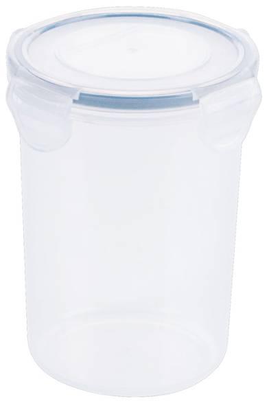 CNCO3770 Frischhaltedose Kunststoff rund, D= 10,5 cm, H=12,5 cm, 950 ml
