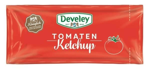 EMKT0001 Tomaten-Ketchup von Develey 20 ml-Portionsbeutel Karton=150 BT