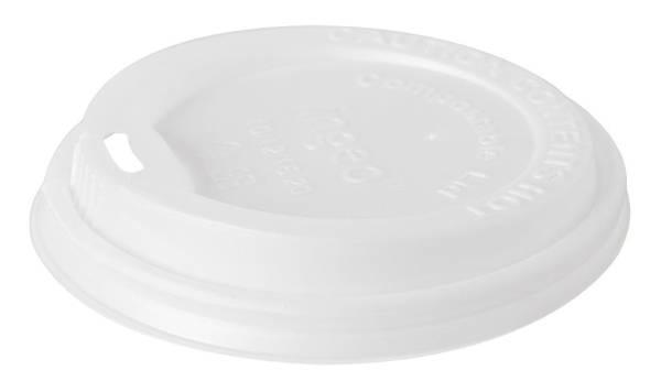 UVDU0137 Deckel weiß für Double Wall Thermobecher  KT= 800 Stück