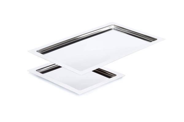 GBAP0267 Fingerfood Edelstahl Tablett GN 1/1 53 x 32,5 cm