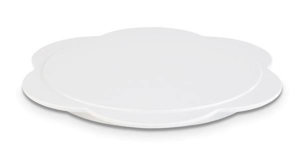 GBAS0613 Tablett BAKERY weiß Melamin D= 23,5 cm H= 1,5 cm