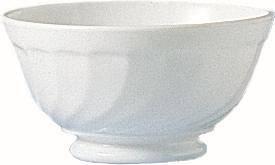 GLAR0175 ARCOROC Trianon Uni Suppennapf auf Fuß 13,2cm weiß rund Pack=6 Stk