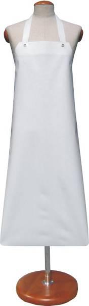 BESC0344 Schürzen Export Deliclean weiß 140 x 100cm , gesäumt,BW-Bänder