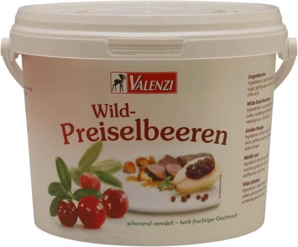 KOMK0003 Wild-Preiselbeeren von Valenzi Eimer= 2 kg