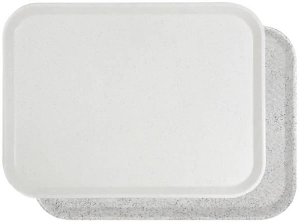 CNCO1386 Tablett Glasfaser, lichtgrau 46x36