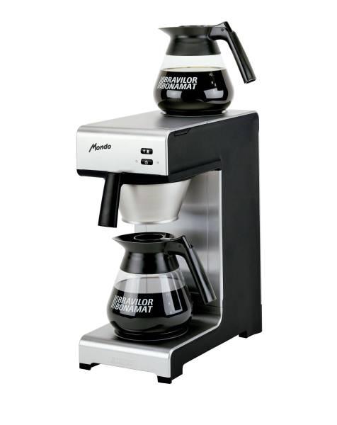 MGBO0157 Bonamat Kaffeemaschine Mondo 2 2 Glaskannen u. 2 Warmhalteplatten