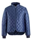 BETH0071 Jacke Thermolux marine-blau Gr. S Ottawa m. Kragen und langem Arm