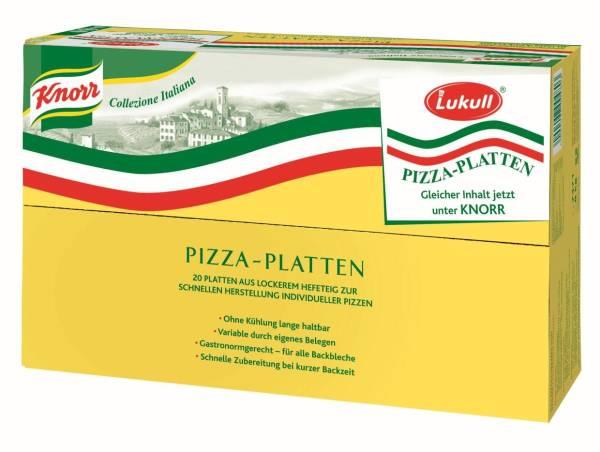 TWPP0001 Pizza-Platte Meistermarken Karton= 8 kg