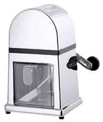 CNCO0933 Eismühle verchromt, Acryl-Behälter 16x 13,5x 27 cm 0,9 Liter