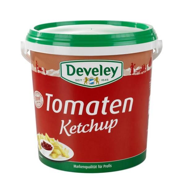 EMKT0005 Tomaten-Ketchup von Develey Eimer = 10 kg