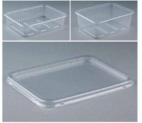 KPBE0331 Deckel für Unischale transparent 500g bis 2000g KT= 200 Stk