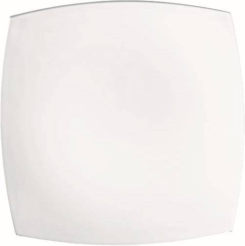 GLAR0142 ARCOROC Delice Uni Teller flach 18,6 cm weiß Pack = 6 Stück
