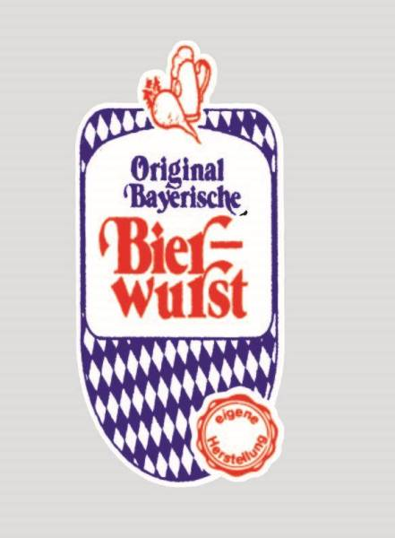KKGL0026 Kalle Nalo GLI 75/33 Bay. Bierwurst Serie Bayern