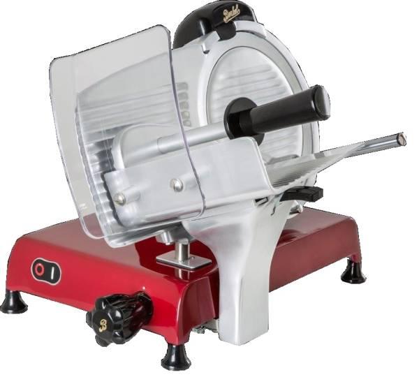 AUSO0060 Berkel Aufschnittmaschine Red Line 250 rot, Messerdurchmesser 250mm