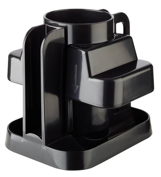GBAP1077 Zitrusteiler aus Kunststoff schwarz 20x 15x 19 cm