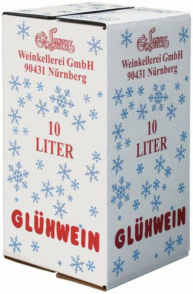 GTWE0009 Christkindl Glühwein St. Lorenz 10 Liter Bag in Box