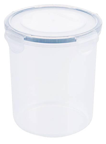 CNCO3771 Frischhaltedose Kunststoff rund, D= 10,5 cm, H=18 cm, 1200 ml