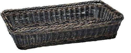GBAP0527 Korb GN 1/3 Polypropylen schwarz/ braun, 32,5 x 17,5 cm, Höhe= 10 cm