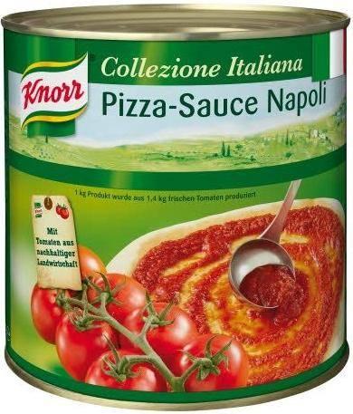 Knorr Pizzasauce Napoli 2 6 Kg Gunstig Bestellen