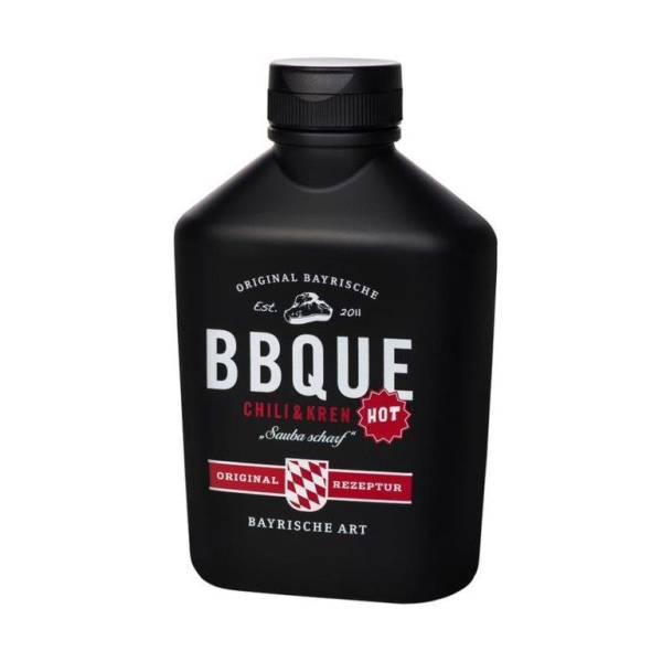 EMXX0037 BBQUE Sauce Chili & Kren 400ml Squeez Flasche, Pack= 6 Flaschen