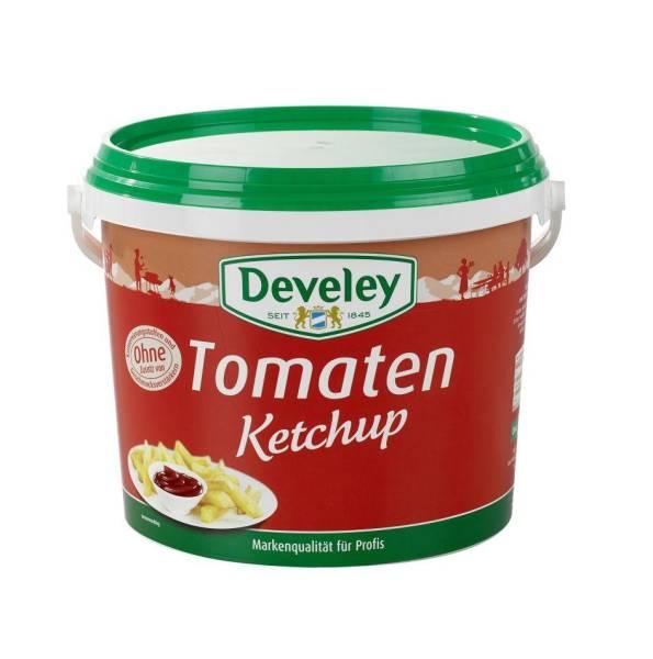 EMKT0011 Tomaten-Ketchup von Develey Eimer = 5 kg