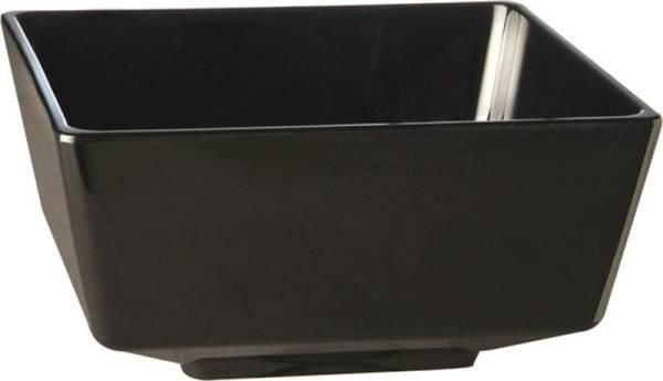 GBAS0063 Schale FLOAT 19,5x19,5cm, H=9,5cm Melamin schwarz, 1,5 L