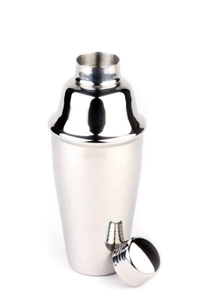 GBAP0130 Shaker aus Edelstahl 0,5 L D= 8,5 cm, H= 20 cm