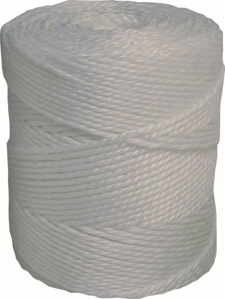 GAWG0017 Kordel-PP 2-fach weiß 320 m Sack= 6 Knäuel