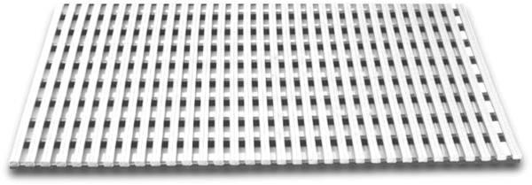 KSSO0053 Bodenrost Kunststoff weiß 1175x590x32mm