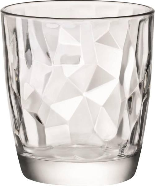 GLGL0232 Acqua Transparenter Whiskybecher DIAMOND 30,5 cl Karton= 6 Stück