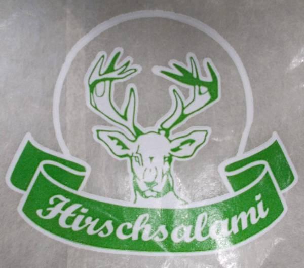 KKFA0159 Kalle Nalo Faser I farblos 55/25 Hirsch-Salami