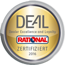 Rational Gold zertifiziert